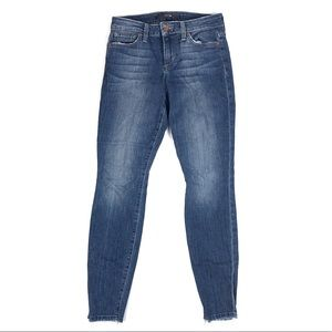 🦋 Joe's Jeans Skinny Ankle Raw Hem Size 25